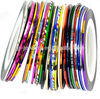 29 colors Mixed Colors Rolls Striping Tape Line Nail Art Tips Decoration Sticker