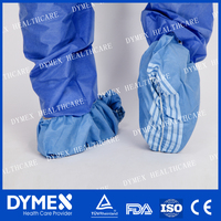 Recyclable PP spunbond antislip non woven fabric skid resistance shoe cover