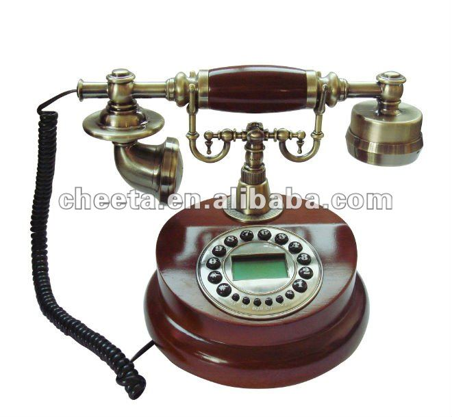 FSK/DTMF DUAL SYSTEM Antique telephone , old history phone