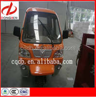 Three seats passenger tuk tuk closed new gasoline for sale