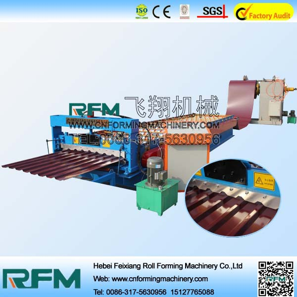 FX wall and roof cold roll forming double layer roof panel roll forming machine