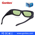96~144Hz DLP Video Projector Cinema Active Shutter 3D Glasses
