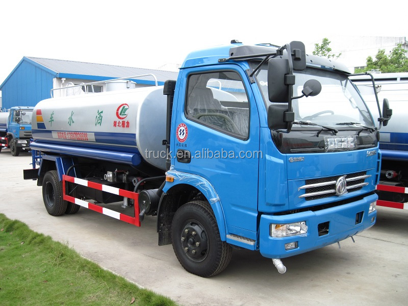 6 tons 5460L Water Tank Truck, Water Sprinkling Vehicle, Water Delivery Truck