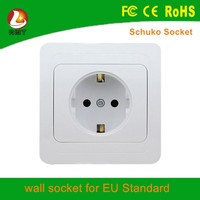 Luxury electrical wall power socket and lamp holder