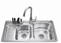 HH5S9247 Free standing stainless steel kitchen sink