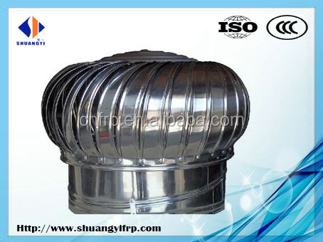 Natural Turbine Ventilator,roof ventilation fan for poultry house 20 years manufacture