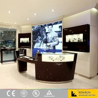 Noble used jewelry and watch display cases check out counter for retail store counters for sale