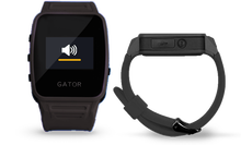 Jogger running people Smart cell phone easy going GPS phone watch---Gator Caref Watch