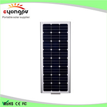 High efficient Solar Rechargeable Intergreated Powered Street Light