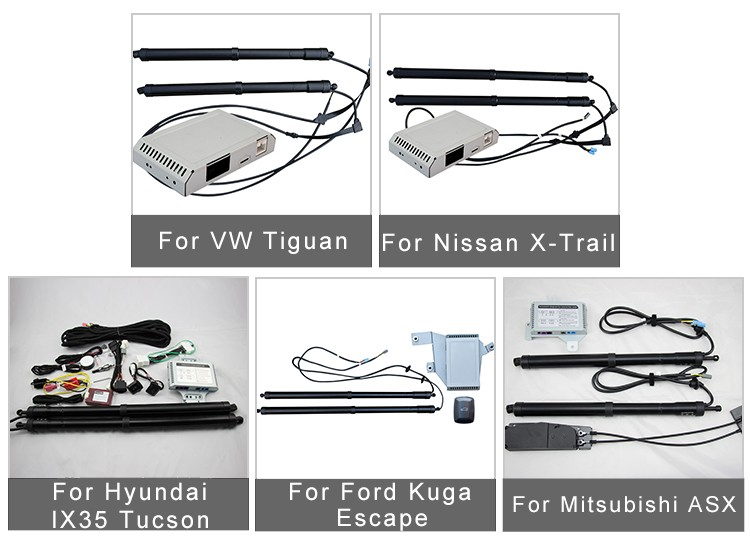 Auto Electric Tailgate For VW Tiguan 2015