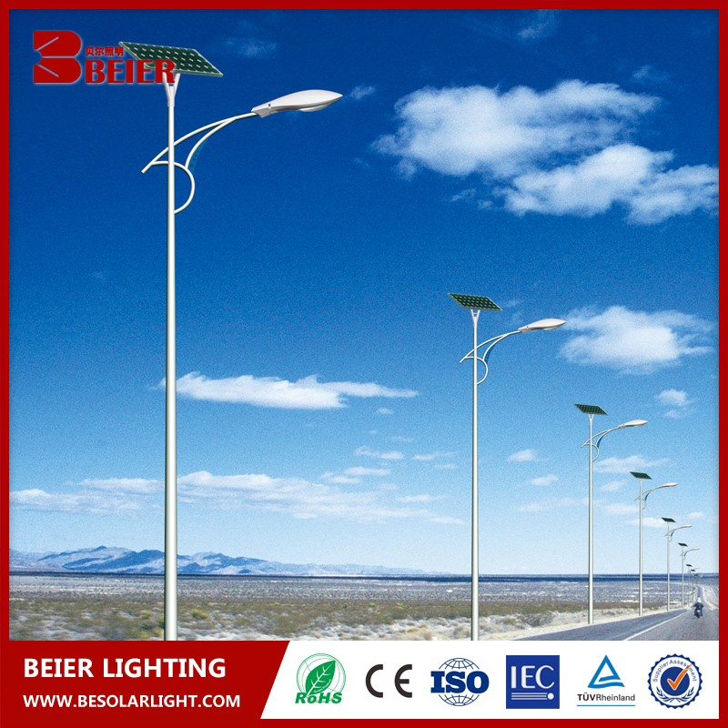 solar led outdoor landscape light up palm tree ,power solar led street light High Quality
