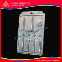 recycled pack Custom fancy cell phone case package / plastic Iphone case packaging