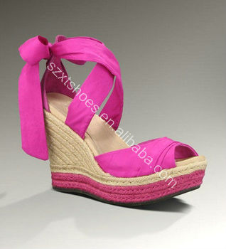 Low price ladies sandals stylo shoes in sandals beautiful wedge sandals 2014