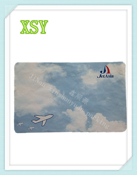 non-slip paper mat uesd for airplane