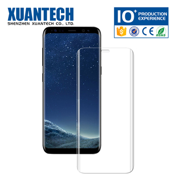 Customized nano liquid screen protector, unique cell phone accessories, toughened glass