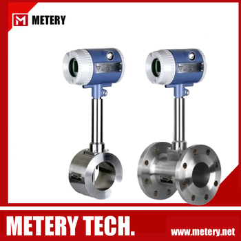 316 stainless steel steam vortex flowmeter remote type with totalizer