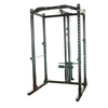 Professional Gym Equipment Power Rack With Lat-Attachment
