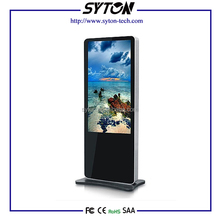 42 Inch indoor floor standing digital signage monitor media video ad player