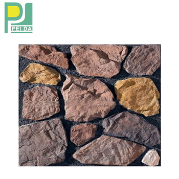 Colorful Artificial Stack Stones Products for External Walls in Guangzhou Factory