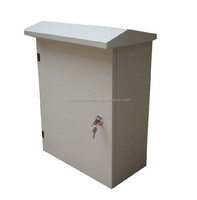 Waterproof wall mounted outdoor telecom box