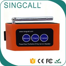 SINGCALL Service Pager Transmitter Button Nurse Call System for Elderly
