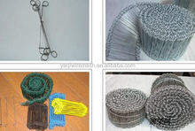 ISO9001:2008 china factory galvanized bailing wire/loop wire ties