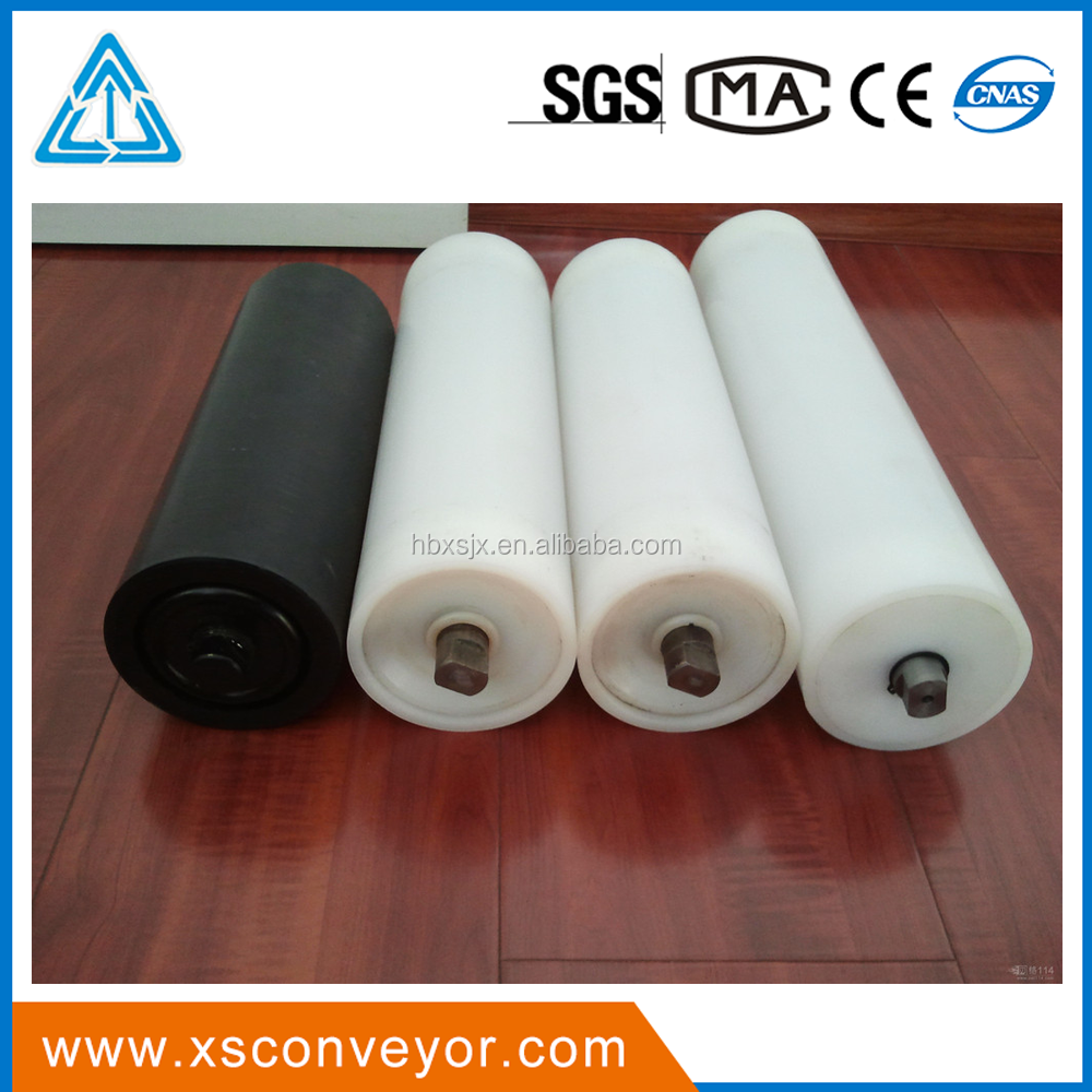 Transition Conveyor belt Nylon Carrying idler Roller for stone plant
