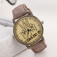 New style most popular korean fashion watch