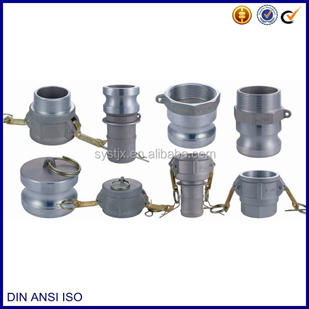 Eight type A B C D E F DC DP water quick coupling