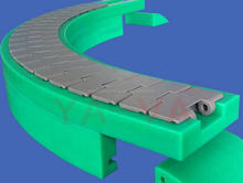 Engineering cheap price teflon conveyor belt plastic pom slat conveyor belt chain