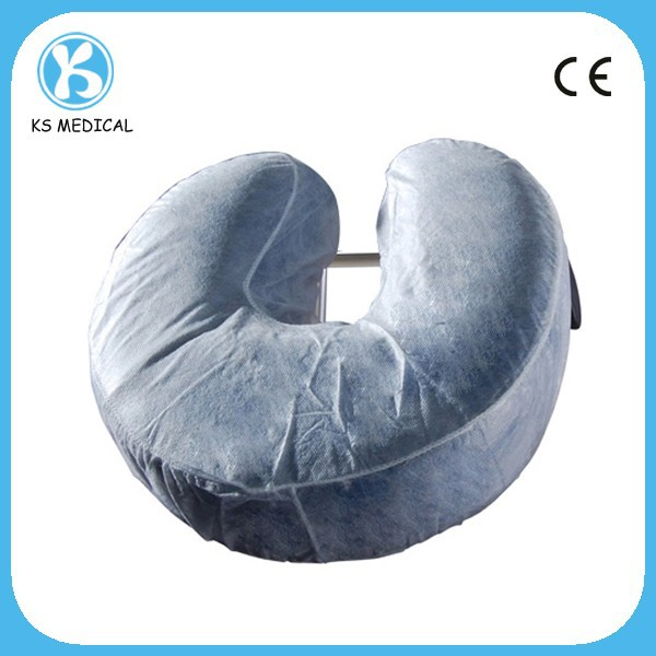 PP Non woven disposable neck pillow cover medical pillow cover
