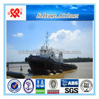 Qingdao professional Selling boat rubber inflatable vessel salvage ship airbag