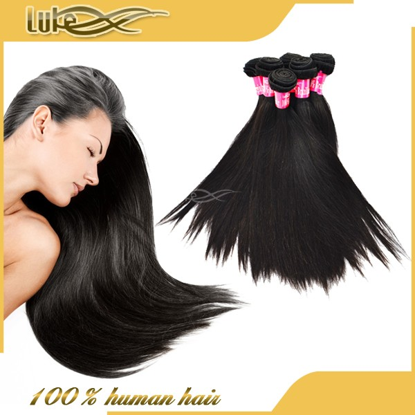 2014 Fayuan Full Cuticle 6A best virgin human Brazilian hair extension weft