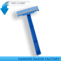 medical razor for hospital with comb