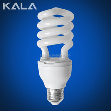 News Half spiral 110-130V 3000-8000Hour 7-250W energy saving lamp or bulb and CFL lamp