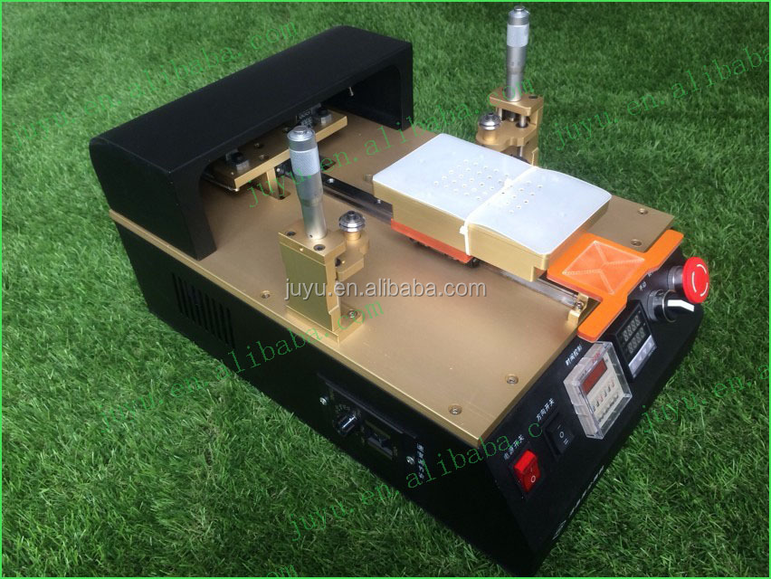 auto semi saparating machine for lcd and broken glass with cutting wire