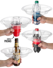 GoPlate Reusable party plates that double as drink holders.