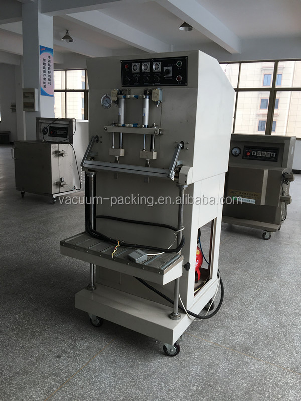 DZQ-600L grain nitrogen gas flushing packaging machine external automatic vacuum packing machine with CE certificate