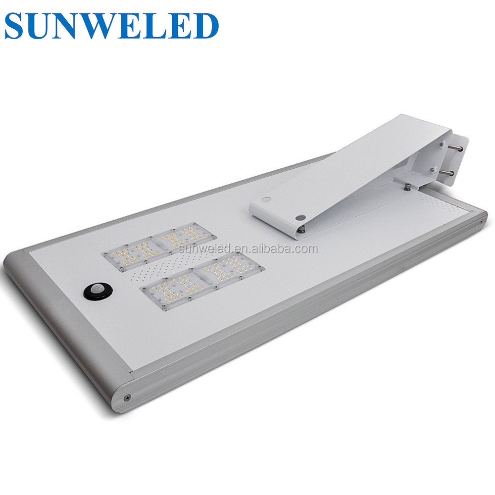 3030 Model Battery solar led street light 10W 20W 30W 40W 50W 60W 70W
