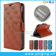 Wholesale 3D Pressure Knurling Mobile Phone Leather Flip Cover For Allview P9 Energy Lite