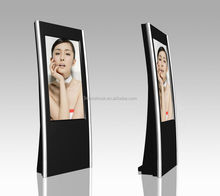 LED advertising screen 55 inch indoor Floor Stand Touch Screen Displays / Led Commercial Advertising Display Screen