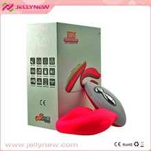 JNV-017 10KPCS exported rechargeable soft liquid silicone best female vagina vibrator