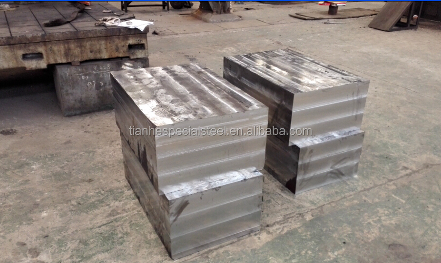 Guaranteed quality forgings hot/cold working die steel block