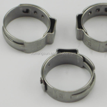 Single Ear Stepless clamp tight enough single ring hose clamp for gas oil pipe