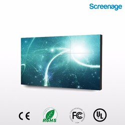 Ultra narrow bezel 3.9mm lcd video walls with large size