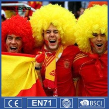 Wholesale Cheap Supporter Cheering Soccer Football Fans Wig