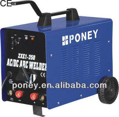 ce approved steel material ac/dc portable arc welding equipment /inverter arc welding machine with free accessories