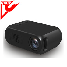 YG320 Portable LCD HD 320X240 Pixels 1080P AV USB HD LED Mini Projector Smart Home Cinema Theather Video Projector