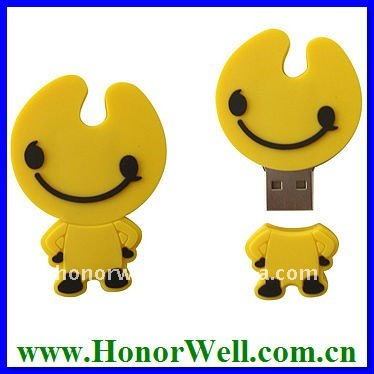 Cartoon different models pen drive for customization