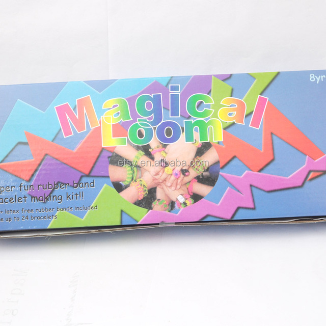Super fun rubber band bracelet making kit magical loom